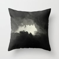 Hole In The Sky II Throw Pillow