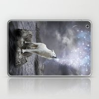 Stars Lie Hidden (Wolf Galaxy) Laptop & iPad Skin