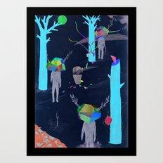 pretence Art Print