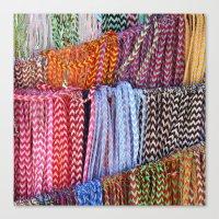 Color Threads Canvas Print