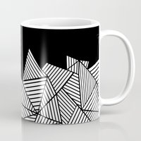 Abstraction Mountain Mug