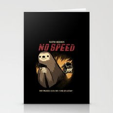 no speed. Stationery Cards