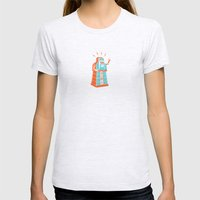 Madame Atomique Womens Fitted Tee Ash Grey SMALL
