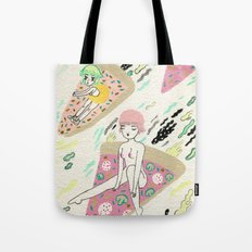 Pizza Riders Tote Bag