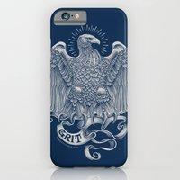 iPhone & iPod Case featuring Grit Eagle by Rachel Caldwell