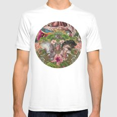 ADAN & IBLIS SMALL Mens Fitted Tee White