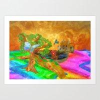Let Color Bring You Smil… Art Print