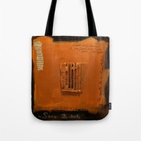 SAVE BABEL GOLD Tote Bag