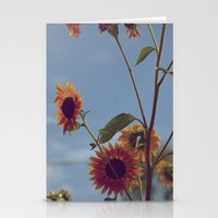 Reaching for the skies (Vintage) Stationery Cards
