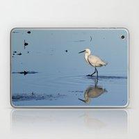 Egret walk Laptop & iPad Skin