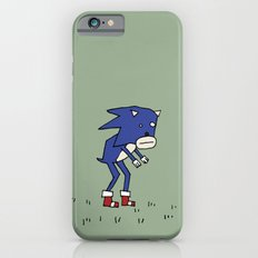 Sad Sonic The Hedgehog In A Field iPhone 6s Slim Case
