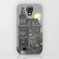 Galaxy S4 Cases featuring Haunted by the 80's by Terry Fan