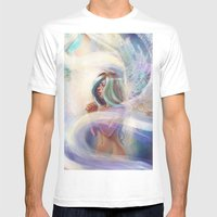 Pray Mens Fitted Tee White SMALL