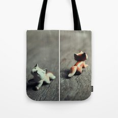 Heads & Tails (Fox) Tote Bag