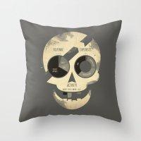 PieRates Throw Pillow