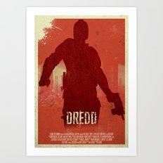Dredd - I Am The Law Art Print
