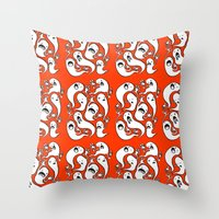 Ghosties Throw Pillow