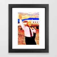 O Politico Framed Art Print