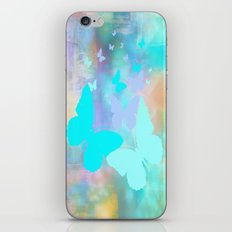 Painterly Butterfly Abstract iPhone & iPod Skin