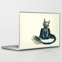 dragon Laptop & iPad Skins featuring Toothless by Alice X. Zhang