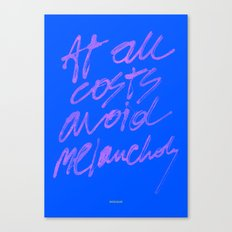 AT ALL COSTS 2 Canvas Print