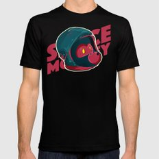 Space Monkey Mens Fitted Tee Black SMALL