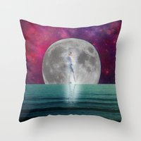 Passing Shadow Throw Pillow