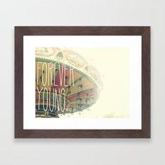 F∞REVER Framed Art Print