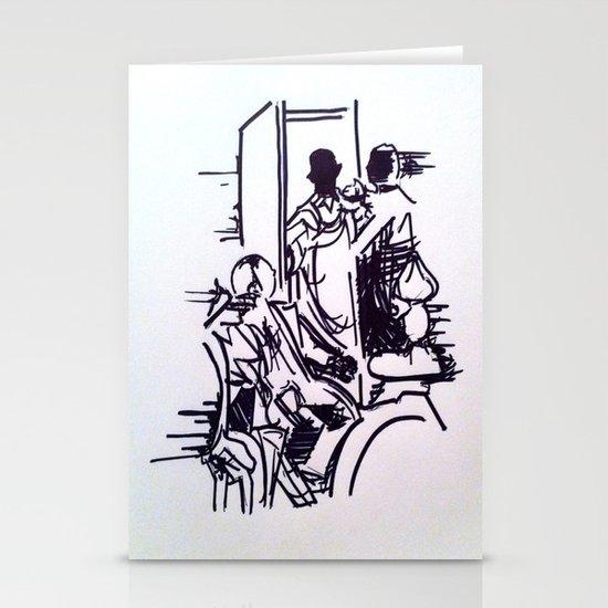 Sherlock Stationery Card