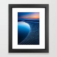 Blue Hour Framed Art Print