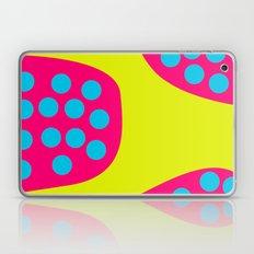 Green Purple Dots Laptop & iPad Skin