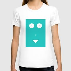 Woman Womens Fitted Tee White SMALL