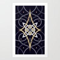 Ostara Tarot III Art Print