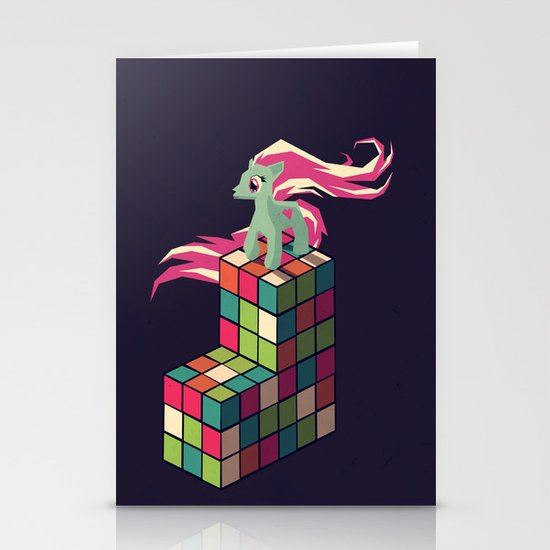 colorful toys Stationery Card