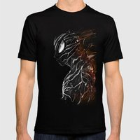 Web of Shadows Mens Fitted Tee Black SMALL
