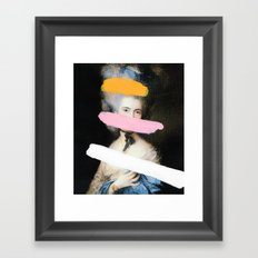 Brutalized Gainsborough 2 Framed Art Print