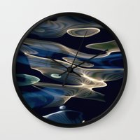 Water / H2O #10 (water abstract) Wall Clock