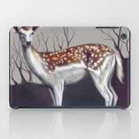 Deer in the forest iPad Case