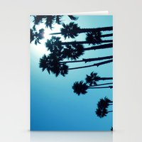 Santa Cruz - Blue  Stationery Cards