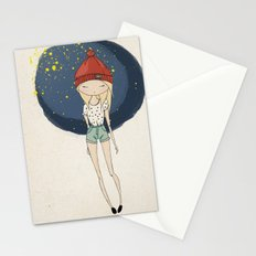 Ange - Fashion illustration Stationery Cards