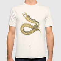 Fáfnir Mens Fitted Tee Natural SMALL