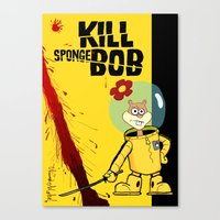 Kill Spongebob Canvas Print