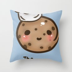 The 'Cook'ie Throw Pillow