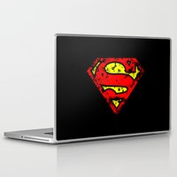 superman Laptop & iPad Skins featuring Superman by myfluffy