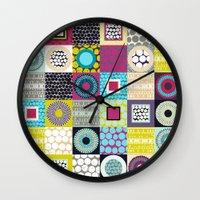 Tutu Cork Geo Wall Clock