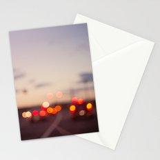 highway at dusk Stationery Cards