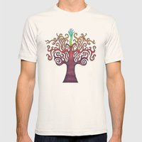 Grow Mens Fitted Tee Natural SMALL