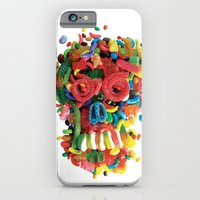 iPhone & iPod Case featuring Death and Tooth Decay by Marco Angeles
