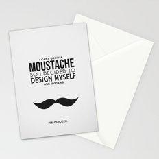 Digital Moustache. Stationery Cards