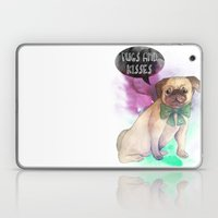 Pugs And Kisses Laptop & iPad Skin